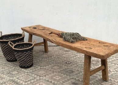 Long salvaged wooden bench | Phoenix - Home Barn Vintage